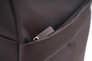 American Tourister Hi-lite Black Front pocket