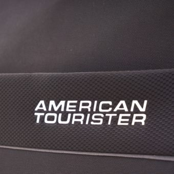 American Tourister Hi-lite Black logo