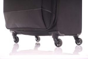 American Tourister Hi-lite Black wheels