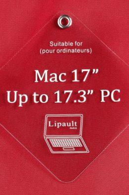 "Lipault Plume Business Laptop Bag 17.3"""