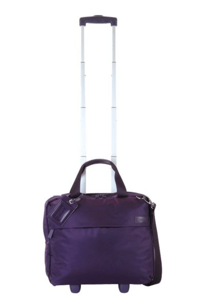 """Plume Business Rolling Tote 2 Wheels 15"""""""