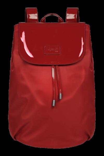Plume Vinyle Backpack M Bi-material