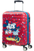 Wavebreaker Disney 4-wheel cabin baggage Spinner suitcase 55x40x20cm