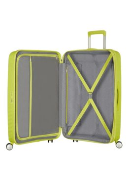 Soundbox 4-wheel 67cm medium Spinner Expandable suitcase
