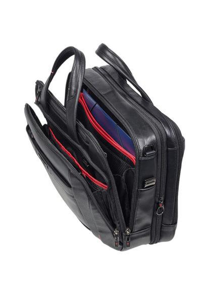 86122fb09807 Pro-Dlx 5 Lth Laptop Bailhandle Expandable 15.6