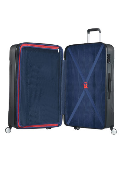 e5b93712a American Tourister Tracklite 4-wheel 78cm large Spinner suitcase ...