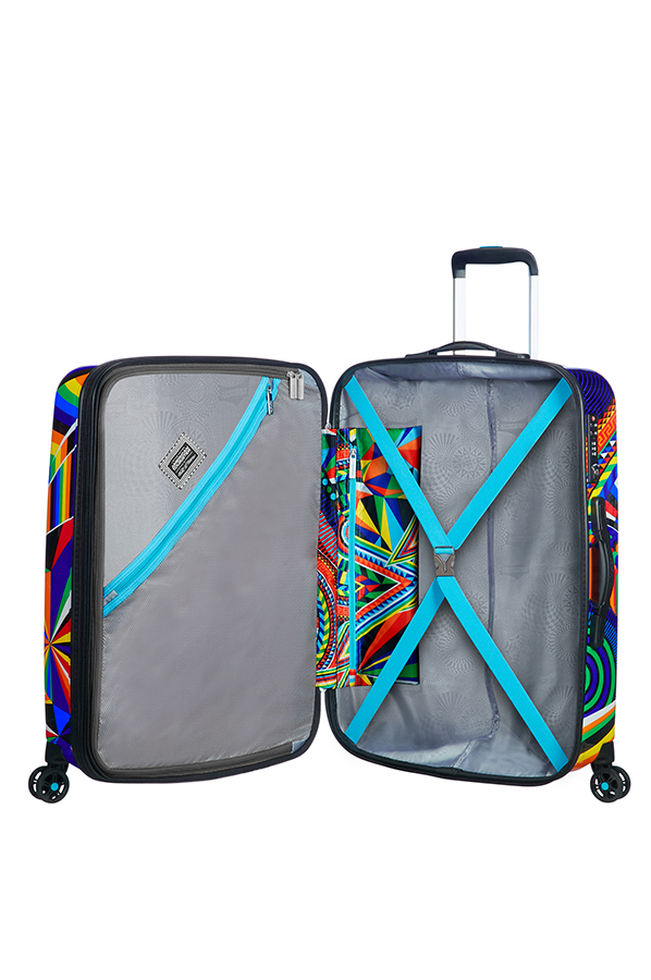 American Tourister MWM Summer Fun 4-wheel 76cm large Spinner suitcase expandable