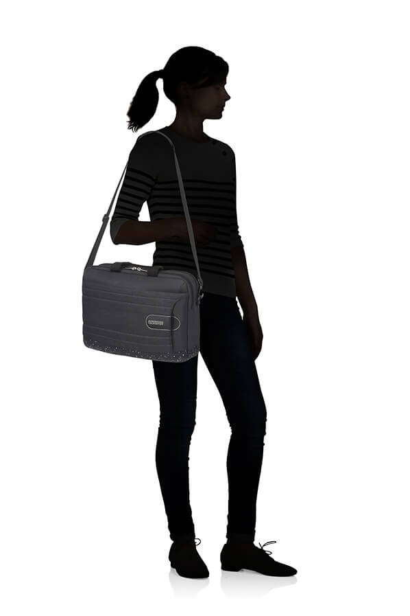 American Tourister Sonicsurfer Laptop Bag  15.6' Black Speckle