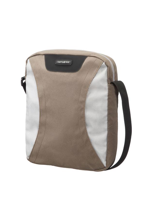 Samsonite Wanderpacks Tablet Cross-Over Coffee Milk/Grey