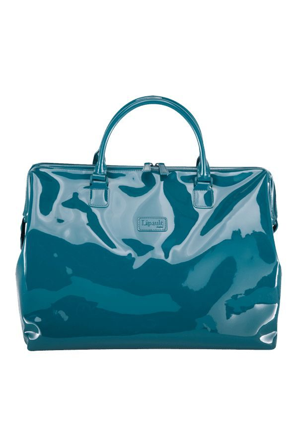 Plume Vinyle Duffle Bag