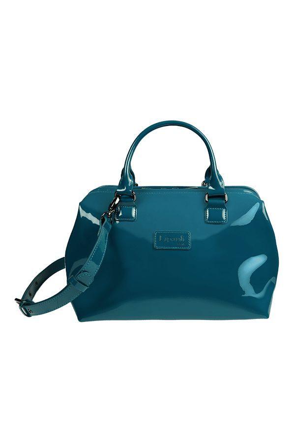 Plume Vinyle Handbag