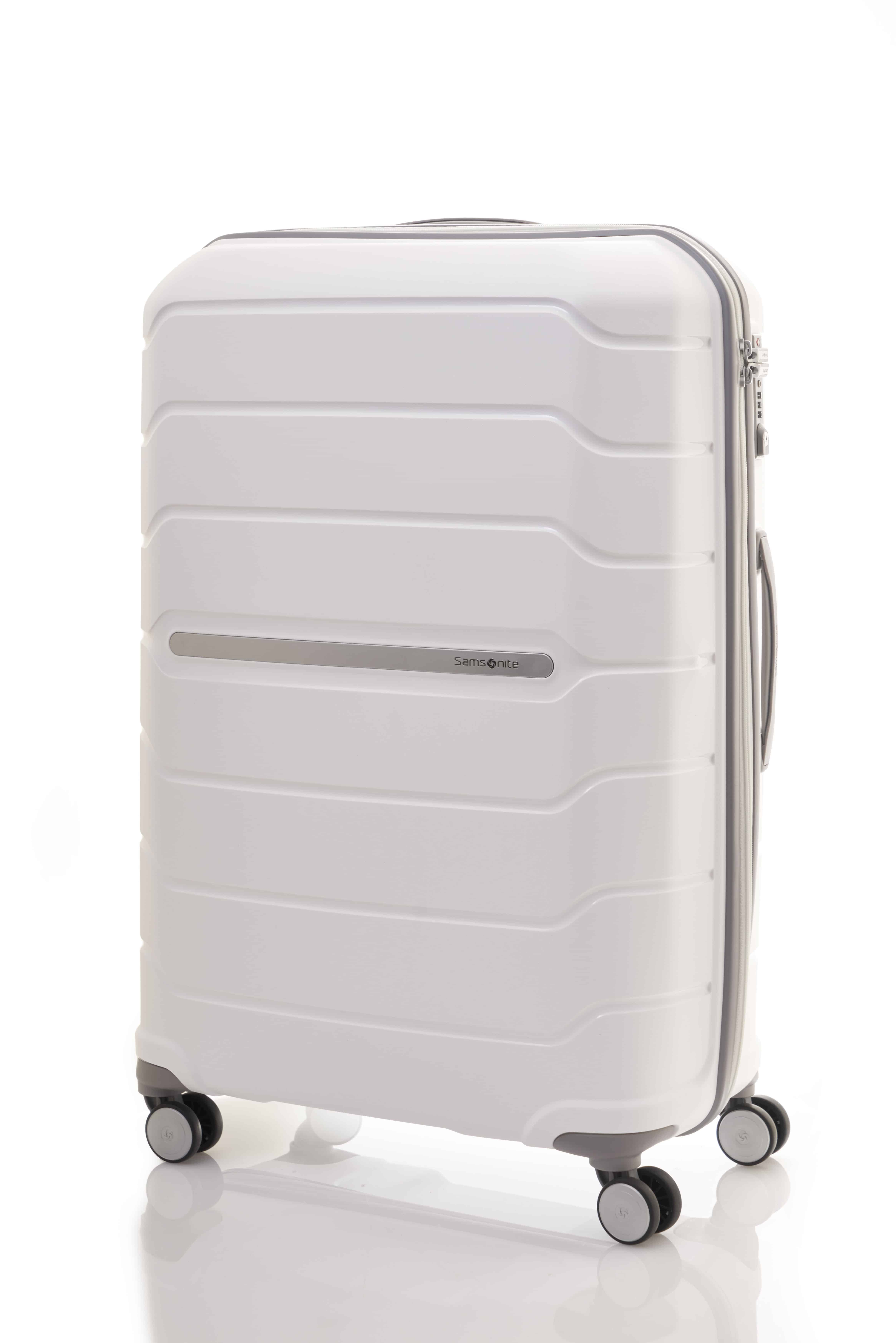Samsonite Octolite white front