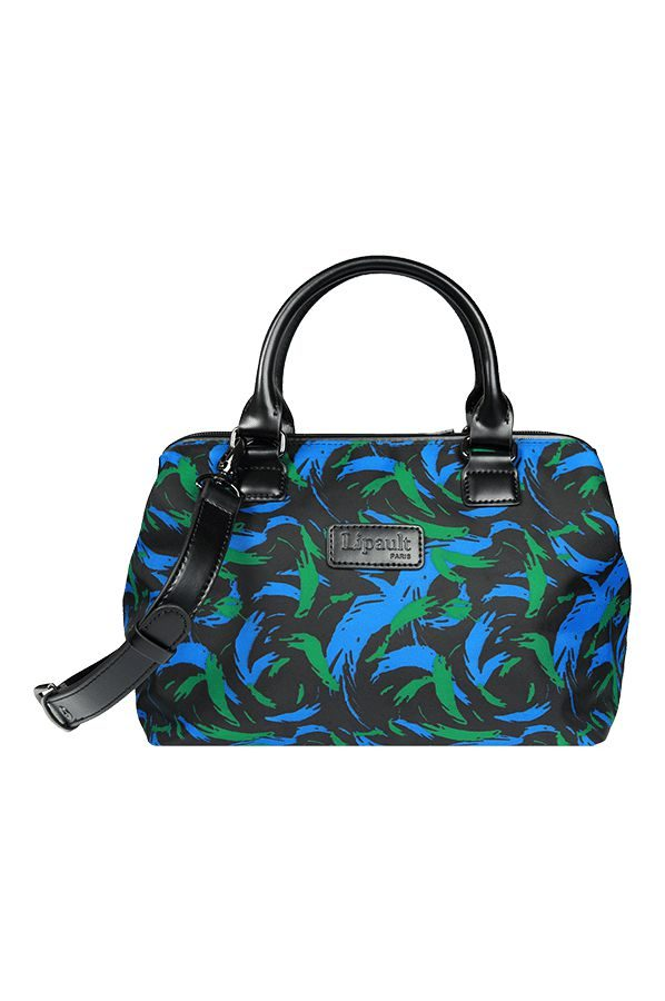 Lady Plume Bowling Bag S Feather Pattern