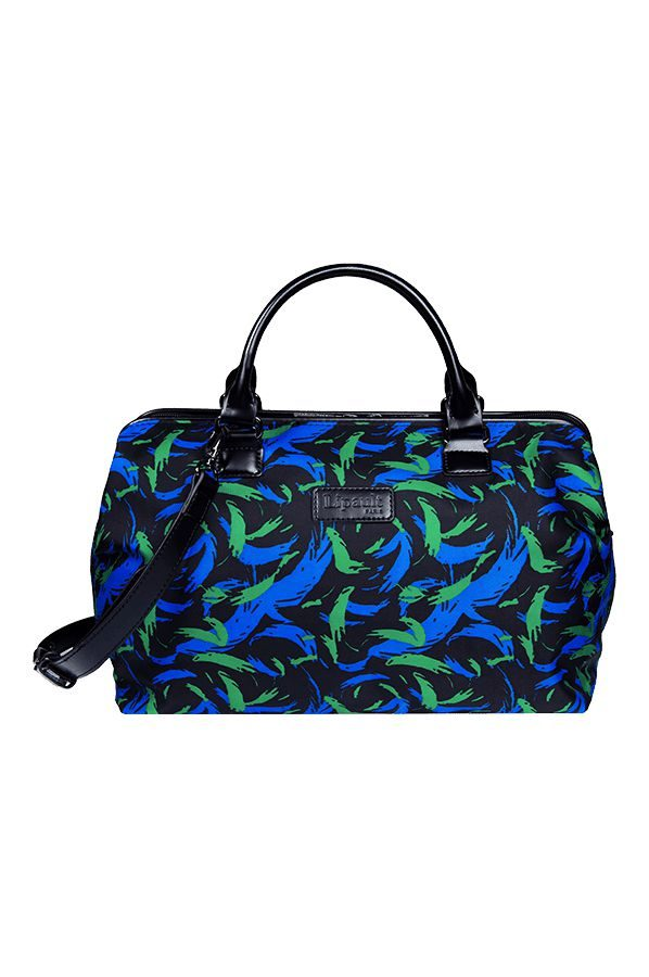Lady Plume Bowling Bag M Feather Pattern