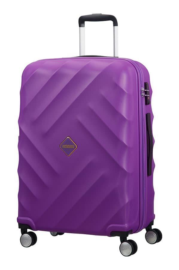 Crystal Glow 4-wheel 66cm medium Spinner suitcase