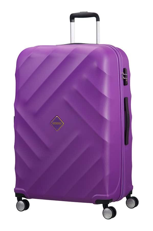 Crystal Glow 4-wheel 76cm large Spinner suitcase
