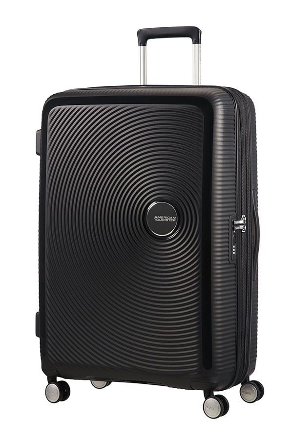 Soundbox 4-wheel 77cm large Expandable Spinner suitcase
