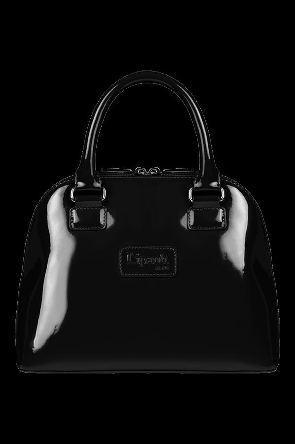 Plume Vinyle Handle Bag S