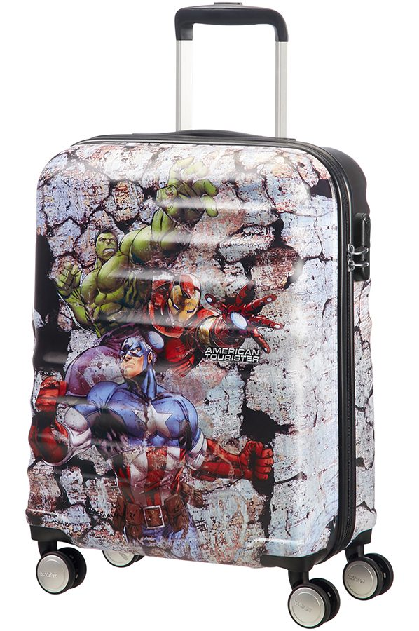 Wavebreaker Disney 4-wheel cabin baggage Spinner suitcase 55x40x20cm