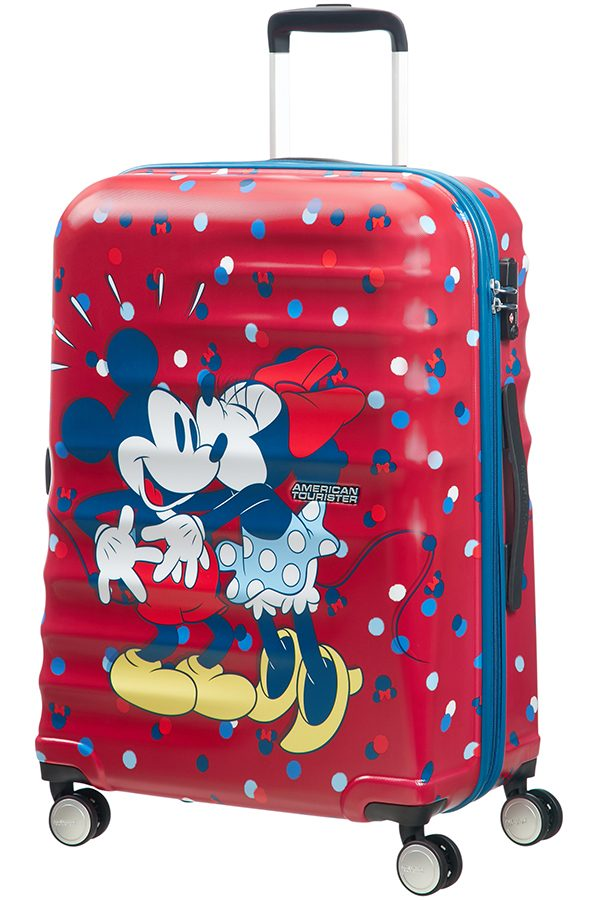 Wavebreaker Disney 4-wheel 67cm medium Spinner suitcase