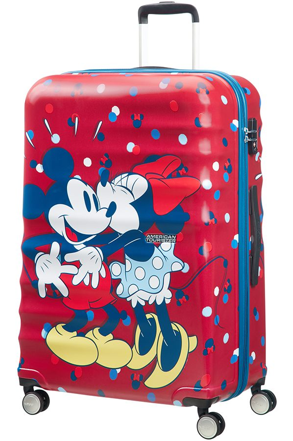 Wavebreaker Disney 4-wheel 77cm large Spinner suitcase