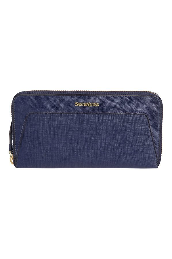 Lady Saffiano II SLG Large Ladies' Zip Around Wallet