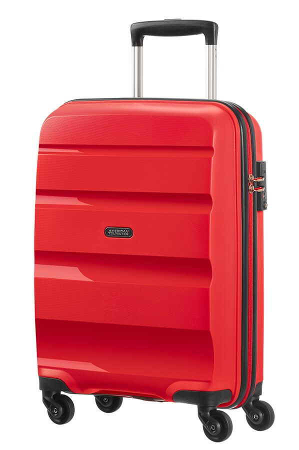 81a627991 American Tourister Bon Air 4-wheel cabin baggage Spinner suitcase 55x40x20cm