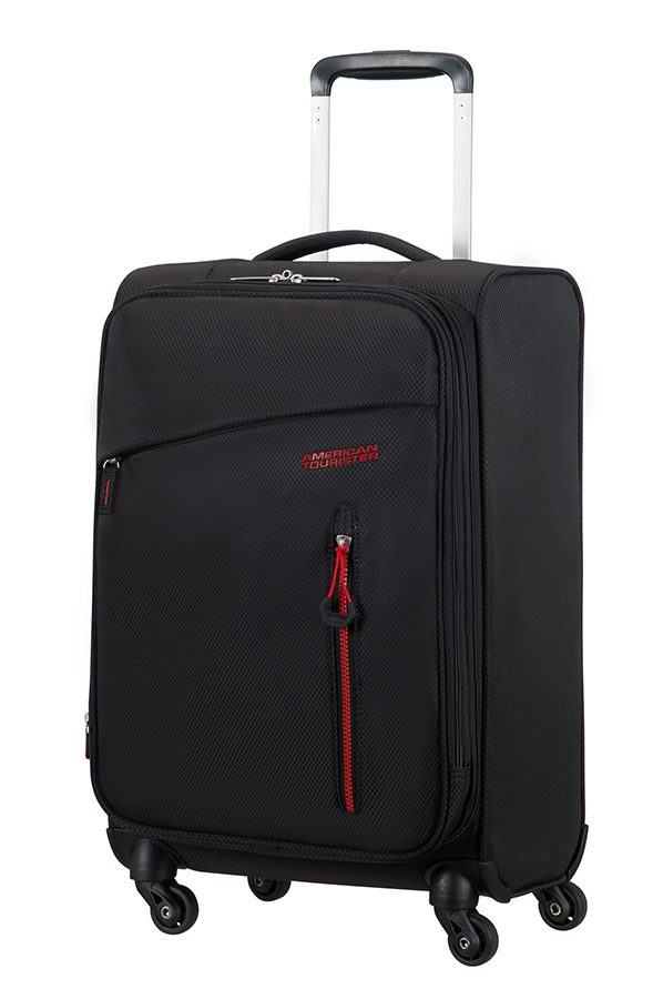 American Tourister Litewing 4-wheel cabin baggage Spinner suitcase Expandable 55x35x23cm