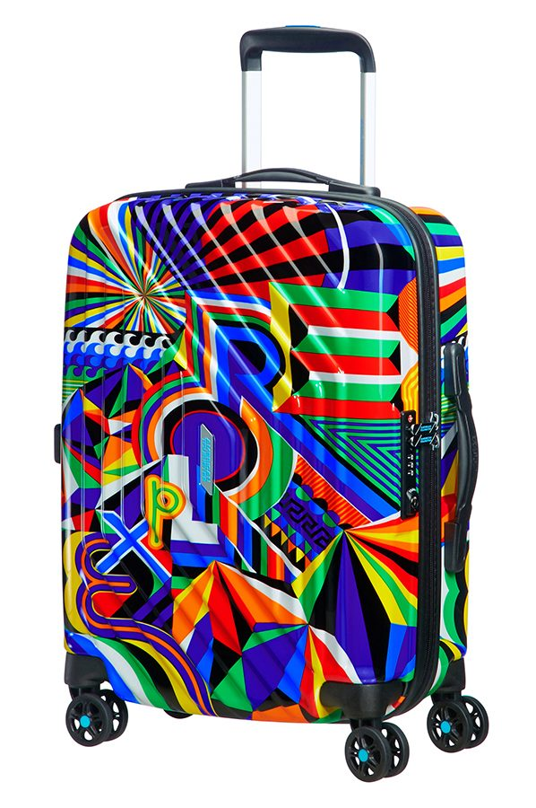 American Tourister MWM Summer Fun 4-wheel cabin baggage Spinner suitcase 55x40x20cm