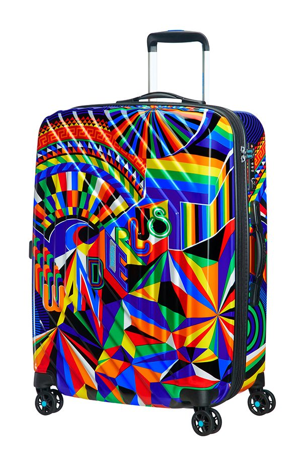 American Tourister MWM Summer Fun 4-wheel 66cm medium Spinner suitcase expandable