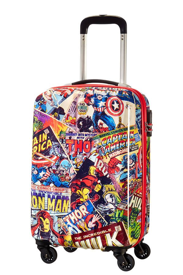 American Tourister Marvel Legends 4-wheel cabin baggage Spinner suitcase 55x40x20cm